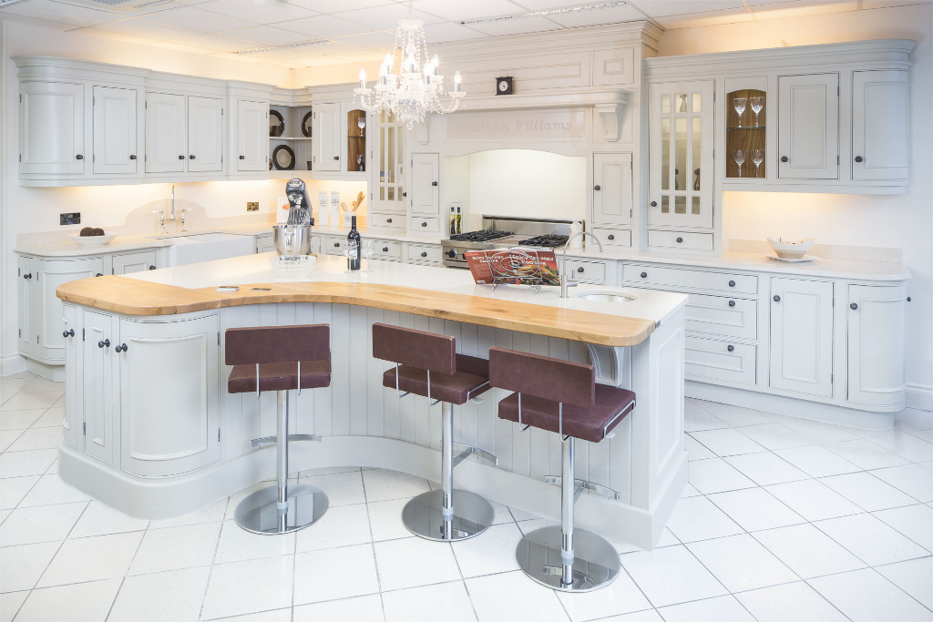 High quality luxury designer kitchens for Jonathan williams kitchens